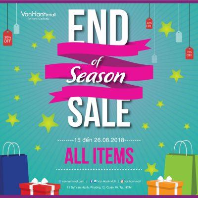 End of Season Sale - Van Hanh Mall