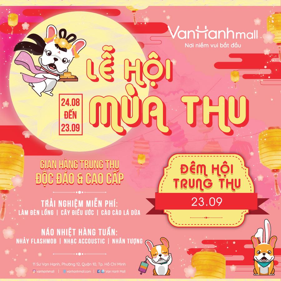 Quay số trúng thưởng tại trung tâm mua sắm Vạn Hạnh Mall