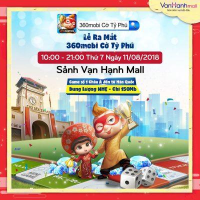 Van Hạnh Mall - VNG ra mắt game mobi 360