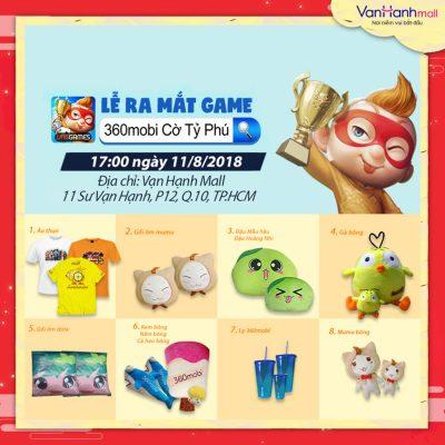 Ra mắt game Mobi 360 tại Vạn Hạnh Mall
